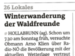 BB Hollabrunn vom 1.2.2015
